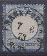 Germany 1872 2gr (o) Mi.20 (Frankfurt A.O.) - Deutschland