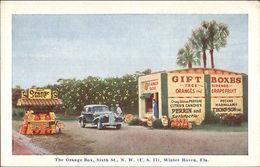 Winter Haven FL The Orange Box Roadside Postcard - Verenigde Staten