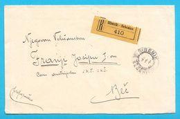 ADRESSED TO HIS MAJESTY THE EMPEROR FRANZ JOSEPH I - Registered Letter From Sibenik *  Austria Osterreich K.u.K. Josef 1 - Briefe U. Dokumente