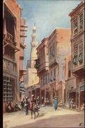 Cairo Egype Mouski District TUCK Oilette #4010 C1910 Postcard - Zonder Classificatie