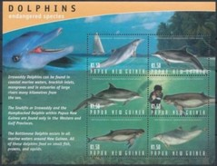 Papouasie Papua New Guinea 2003 Yvert 951-956 *** MNH Cote 9,00 Euro Faune Marine Life - Papouasie-Nouvelle-Guinée