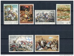 Grecia 1971. Yvert 1057-62 ** MNH. - Greece