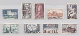 FRANCE 1954/1955 N° 995 998 1008 1019 1020 1021 1022 1023 1024 VALEUR 19,40 EUROS - Francia