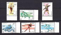 Laos 1990 Olympics MNH - Olympic Games
