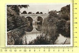 CPM, SAINT-JEAN-SUR-VILLAINE: Le Pont Route De Saint-Didier - France