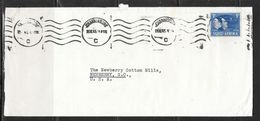 1945 - Lee, Ross & Co. Johnannesburg To Newberry SC USA - South Africa (...-1961)