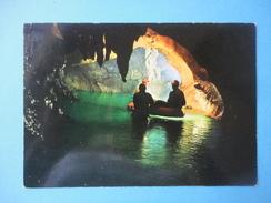 Grotta Di Bossea - Frabosa Soprana - Cuneo - Speleologi Del G.S.A.M. In Esplorazione Sul Lago Loser - Cuneo