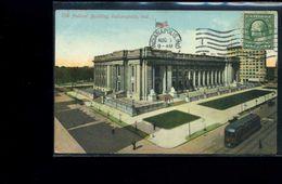 CPA   Indianapolis      The Fédéral   Building   Carte écrite 1910 - Indianapolis