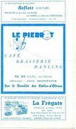 PROGRAMME LE PIERROT Café Brasserie Dancing  APERITIF-CONCERT Les Sables-D'olonne - Programs