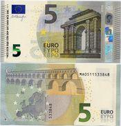 EUROPEAN UNION       5 Euro       P-20m       2013       UNC  [ Prefix: MA] - EURO
