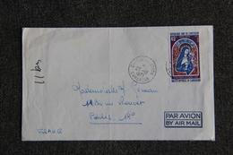 Enveloppe Timbrée Envoyée De DOUALA  à  PARIS - Kameroen (1960-...)