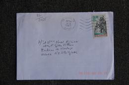 Enveloppe Timbrée Envoyée De ARECHES à HERBIGNAC ( YT : 87/2465) - Marcophilie (Lettres)