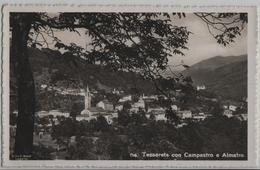 Tesserete Con Campestro E Almatro - Photo: Ditta G. Mayr No. 116 - TI Tessin