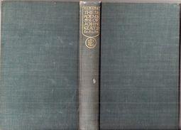 The Poems Of John Keats, Everyman's Library N°101, 1933 - Poetry