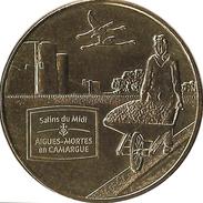 30 GARD AIGUES MORTES LES SALINS N°5  MÉDAILLE MONNAIE DE PARIS 2013 JETON TOKENS MEDALS COINS - Monnaie De Paris