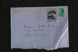 Enveloppe Timbrée Envoyée De VANVES à  TOULON( YT :2526) - Marcophilie (Lettres)
