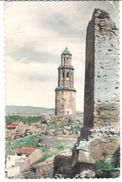 POSTAL    JÉRICA  -CASTELLON  -ESPAÑA  - TORRE Y CAMPANARIO ( TOUR DE CLOCHER - BELL TOWER ) - España