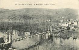 CPA Beaulieu-Le Pont Suspendu      L2342 - Francia