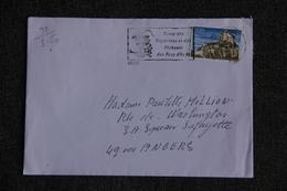 Enveloppe Timbrée Envoyée D'AGDE à ANGERS ( YT : 3150) - Marcophilie (Lettres)