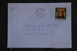 Enveloppe Timbrée Envoyée De VANVES à TOULON ( YT : 2495 ) - Marcophilie (Lettres)