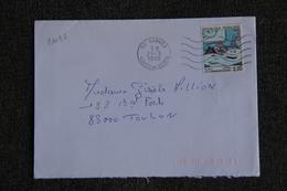Enveloppe Timbrée Envoyée De VANVES à TOULON ( YT : 2496 ) - Marcophilie (Lettres)