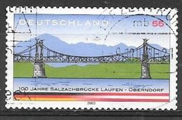 2003 Salzach River Bridge, Used - Used Stamps