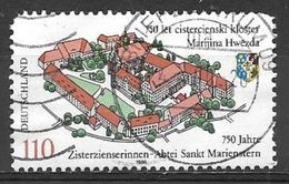 1998 110pf St. Marienstern Abbey Used - [7] Repubblica Federale