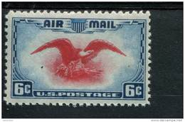 200221600 USA POSTFRIS MINT NEVER HINGED POSTFRISCH EINWANDFREI SCOTT C23 EAGLE HOLDING SHIELD - Air Mail