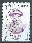 France 2017 Anne Morgan Oblitéré ° - Frankreich