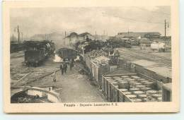 FOGGIA - Deposito Locomotive F.S. - Foggia