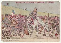 Rocha Vieira * O Desanimo Nas Hostes De Napoleão...Couceiro * Some Folds - Humor