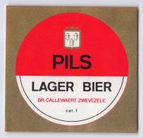 Brouwerij Callewaert - Zwevezele - Pils - Lager Bier - Bière