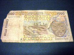 SENEGAL 100 Francs 1994, Pick N° 111A D, SENEGAL - Senegal