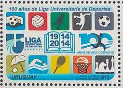 URUGUAY Sports Chess Soccer Tennis Basketball Handball Voley 2014 - Uruguay