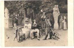 --- PEINTURE ----  Salon DePARIS 1911  WORMS  à La Hussarde Neuve Excellent état - Malerei & Gemälde