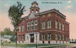 New Hampshire Rochester City Hall 1915 - Rochester