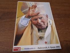 Postcard - Popes J. Paulus II   (V 31882) - Papi
