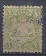 Bayern 1875 1kr (o) Mi.32 - Bavaria