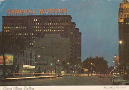 Michigan Detroit General Motors Building 1972