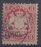 Bayern 1875 3kr (o) Mi.33 - Bavaria
