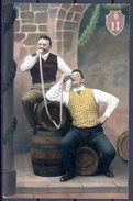 1907 AUSTRIA , CERVEZA , BREWERIANA , TARJETA POSTAL CIRCULADA - Postales