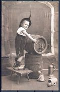 1914 ALEMANIA , CERVEZA , BREWERIANA , TARJETA POSTAL CIRCULADA - Tarjetas Humorísticas
