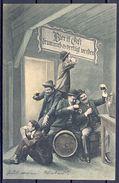 1909 AUSTRIA , CERVEZA , BREWERIANA , TARJETA POSTAL CIRCULADA - Postales