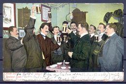 1905 AUSTRIA , CERVEZA , BREWERIANA , TARJETA POSTAL CIRCULADA - Postales