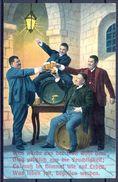 1911 ALEMANIA - BAVIERA , CERVEZA , BREWERIANA , TARJETA POSTAL CIRCULADA - Postales