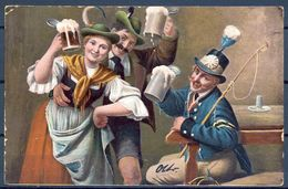 1902 ALEMANIA - BAVIERA , CERVEZA , BREWERIANA , TARJETA POSTAL CIRCULADA - Postales