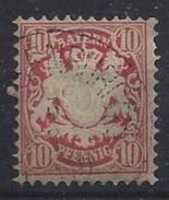 Bayern 1876 10pf (o) Mi.39b - Bavière