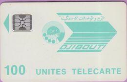 Carte Djibouti °° 100 Unités Vert Clair-Sc4an-CE33559 - Djibouti