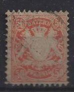 Bayern 1876 50pf (o) Mi.42 - Bavière