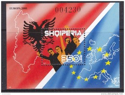 Europa Cept 2006 Albania M/s ** Mnh (33460) - 2006